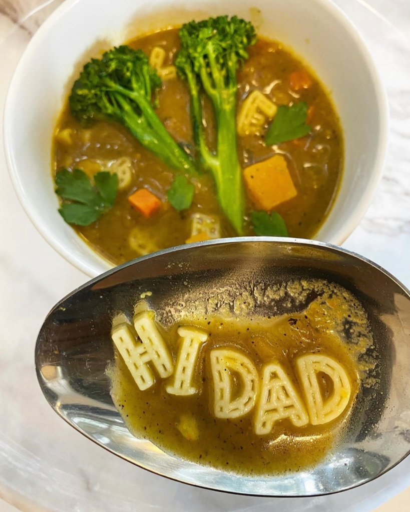 Chicken Butternut Squash 'Hi Dad Soup'